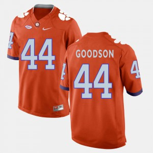 Orange College Football Mens #44 B.J. Goodson Clemson Jersey 684878-979