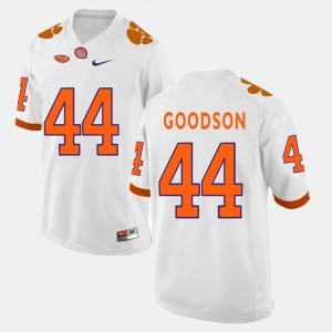 Men College Football White B.J. Goodson Clemson Jersey #44 678068-503