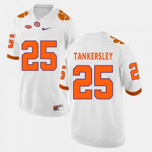 Cordrea Tankersley Clemson Jersey Mens White College Football #25 565479-769
