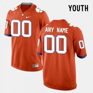 Orange College Limited Football Clemson Custom Jerseys #00 For Kids 755060-788