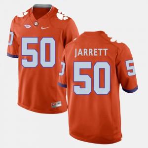 Orange College Football For Men Grady Jarrett Clemson Jersey #50 248250-971