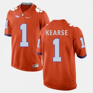 Orange For Men's Jayron Kearse Clemson Jersey College Football #1 779709-693
