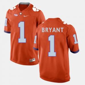 Orange Martavis Bryant Clemson Jersey College Football For Men #1 556002-748