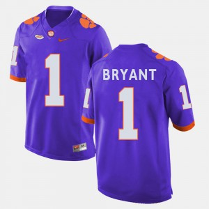 College Football Men's Purple #1 Martavis Bryant Clemson Jersey 796884-333