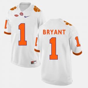 Men College Football Martavis Bryant Clemson Jersey White #1 310402-141