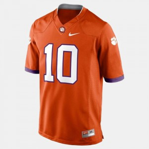 #10 Mens Tajh Boyd Clemson Jersey Orange College Football 565347-772