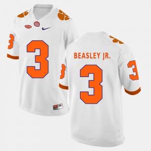 Vic Beasley Jr. Clemson Jersey College Football White Men #3 953646-550