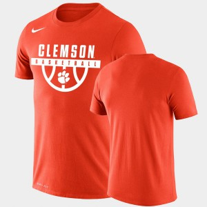 Drop Legend Performance Basketball Men's Orange Clemson T-Shirt 812614-164