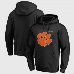 Clemson Hoodie Black Bowl Game College Football Playoff 2018 Sugar Bowl Bound Checkdown Men's 369220-693