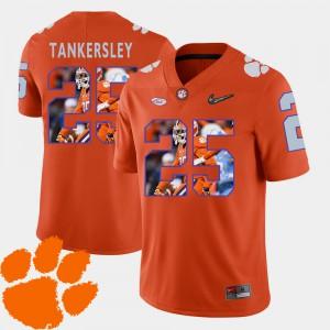 Orange Pictorial Fashion Football Mens Cordrea Tankersley Clemson Jersey #25 542260-801