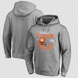 Bowl Game Gray Clemson Hoodie College Football Playoff 2018 Sugar Bowl Bound Down For Men 203423-113