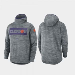 Gray For Men's Clemson Hoodie Spotlight Basketball 696725-349