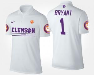 White #1 Men's Martavis Bryant Clemson Polo 750298-410
