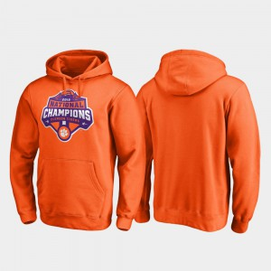 Clemson Hoodie Orange College Football Playoff Gridiron 2018 National Champions Men's 207398-796