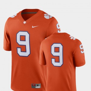 Clemson Jersey 2018 Game Men College Football Orange #9 726965-485