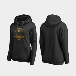 2020 National Championship Bound College Football Playoff French Quarter Black Womens Clemson Hoodie 212117-386