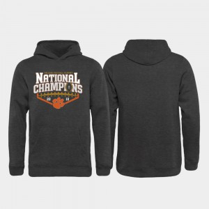 2018 National Champions Heather Gray Kids Clemson Hoodie College Football Playoff Rollout 332587-683
