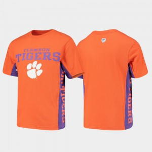 Side Bar Youth Clemson T-Shirt Orange 476973-197